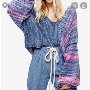 Free People Amethyst Pullover Sweater